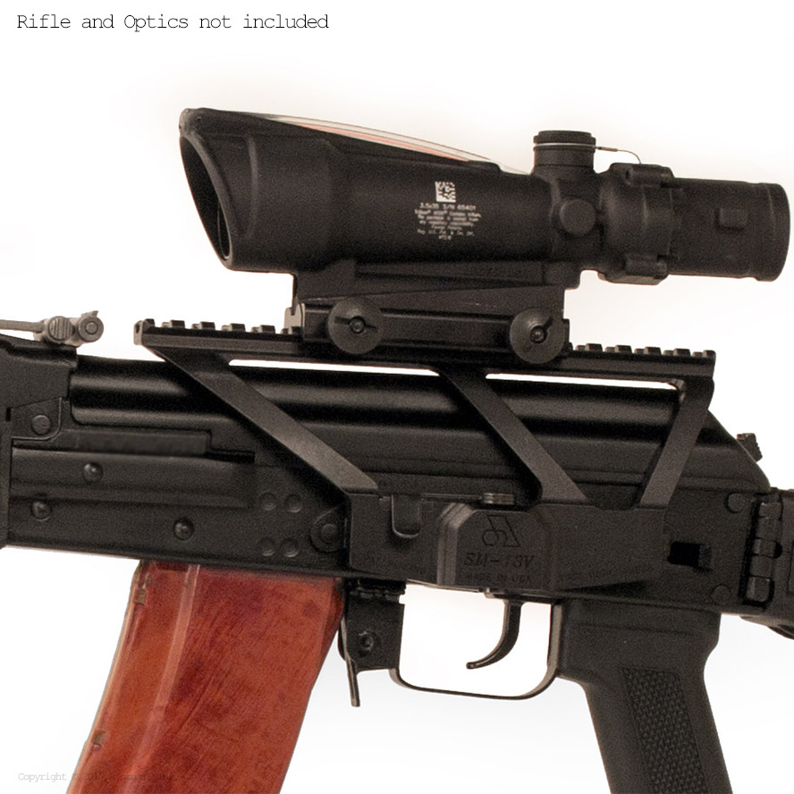 VEPR Profile Picatinny Optic Mount for SF Models & All AK Variants