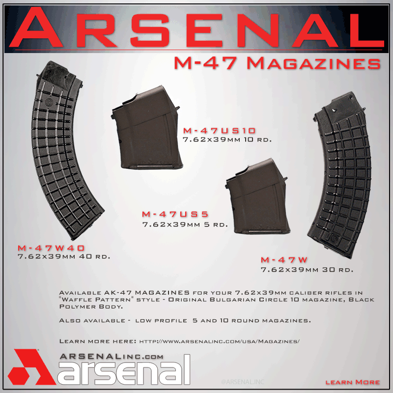 Arsenal, Inc  > M-47 magazines