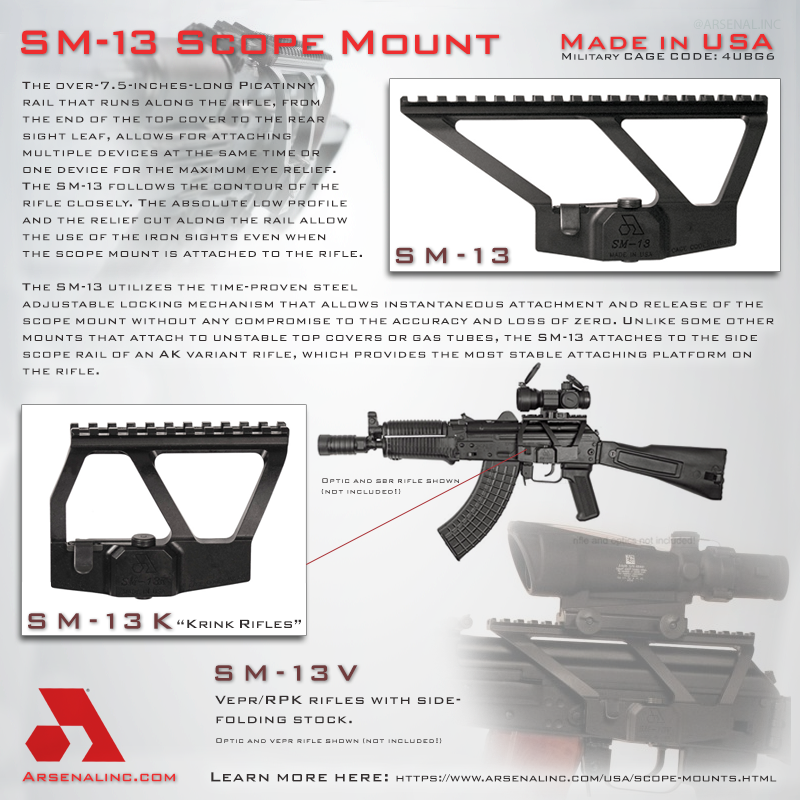 Arsenal, Inc  > Scope Mounts