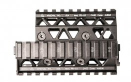 Precision Picatinny Quad Rail Handguard System for 5.45x39 Krink.