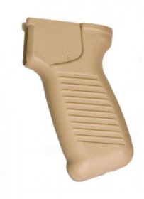 DS Pistol Grip SAM7SF Thicker Ergonomic Design with cut-out for Ambidextrous Safety Lever, Desert Sand, US