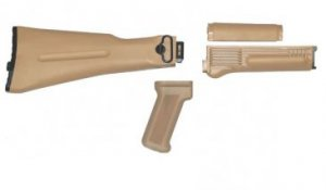 Folding Stock Set (Desert Sand Color) US Made