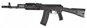 Arsenal SLR-106F Import 5.56X.45 Caliber Stamped Receiver Chrome Lined Hammer Forged Barrel Quad Rail