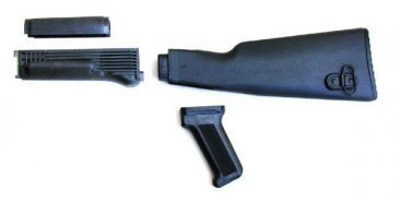Polymer Black Stock Set NATO US