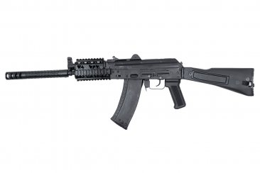 SLR-104UR with Gambit and PR-03 Quad Rail