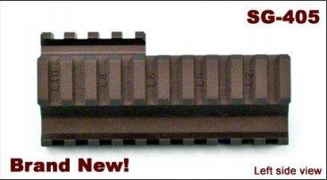 Rail System, Quad Rail for Saiga 12 Shotgun, Arsenal Inc