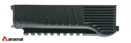 Black Polymer Lower Handguard for Milled Receiver with Integrated Picatinny Rail