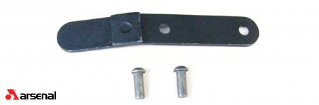 Rear Tang for Milled Receiver with Rivets