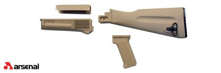 4 Piece NATO Length Desert Sand Stock Set
