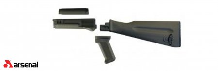 4 Piece OD Green AK47 / AK74 Stock Set