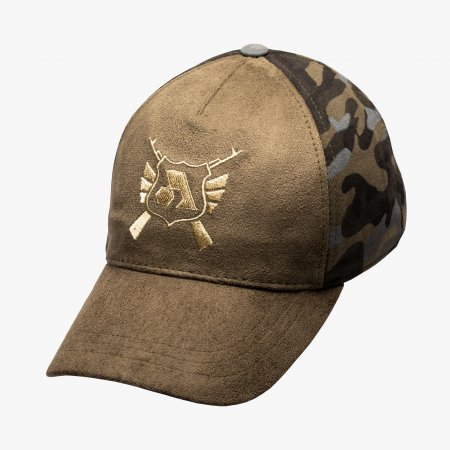 Green Camo Split Icon Cap