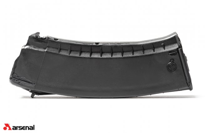 Circle 10 5.45x39mm Black 30 Round Ribbed Magazine