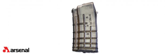 Circle 10 5.56x45mm Clear 20 Round Magazine