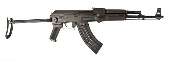 SAM7UF, 7.62x39mm caliber rifle, milled receiver, Under Folding Buttstock, Right side view