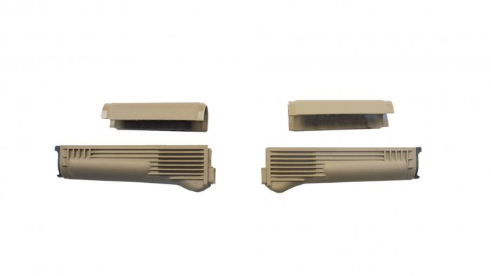 Tan Handguard Set (Upper and Lower)